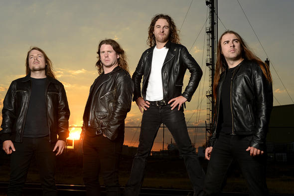Airbourne Portraits in Melbourne