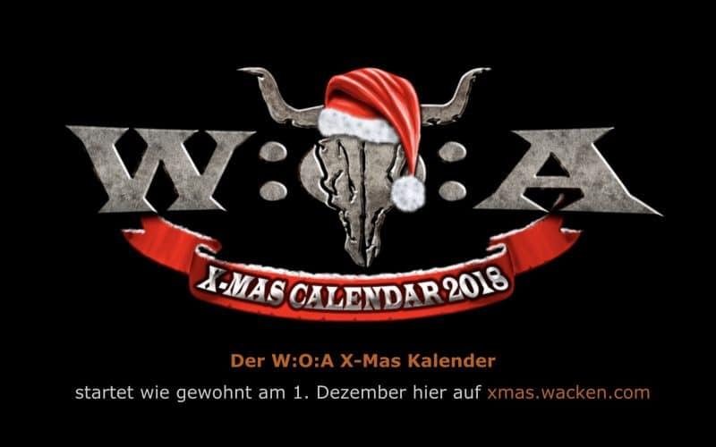 WACKEN – X-Mas-Kalender ab heute Mitternacht!